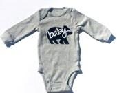 Baby Bear...Fabric Iron On Applique