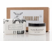 Gift Set - Spa Set - Organic Hand Creme & Soap Set - 5 Scent Choices