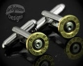 Cufflinks - Remington 9mm Bullets