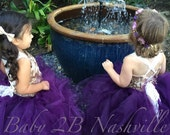 Plum Dress  Tulle Dress T...