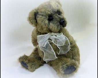 Ty - Artist Teddy Bear, On Sale, Handmade, OOAK, Plushie, Stuffed Animal, 9.5 inch