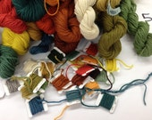 10 Spools of Rya Yarn Samples for Designing Purposes- Select any 10 colors