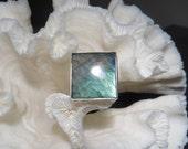 Beautiful Labradorite Ring Size 6.25