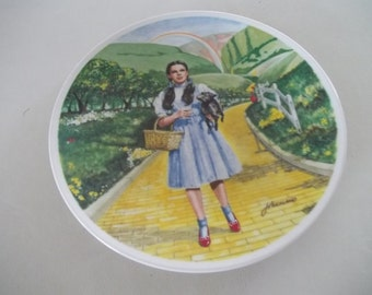 Over the Rainbow Plate Wizard of Oz Collectible Plate