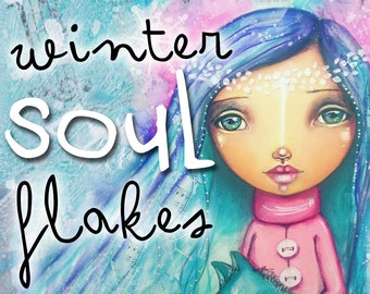 Winter Soul Flakes - Self Study 3-Part Class - Online Download (without DVD)