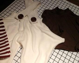 Oompa Loompa pants and shirt and socks