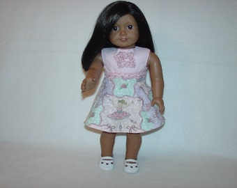 Pink Ballerina Party Dress fits 18 inch  Dolls