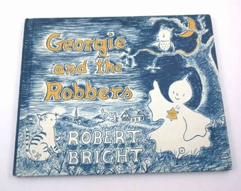 Georgie and the Robbers Vintage 1960s Scholastic Children's Book by Robert Bright