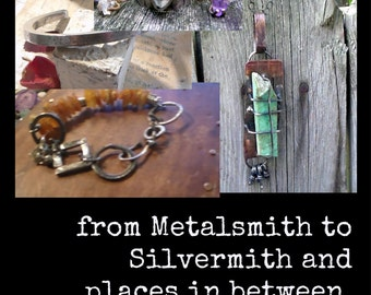 from Metalsmith to Silversmith and Places in between ebook Pdf workshop series instructions DIY Tutorials