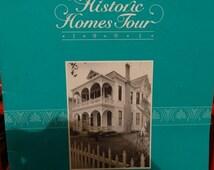 Valentines Day Sale 1991 17th Annual Historic Homes Tour Galveston Texas, Lemuel Burr Home, Treaccar home, Baulard Building, Galveston Histo