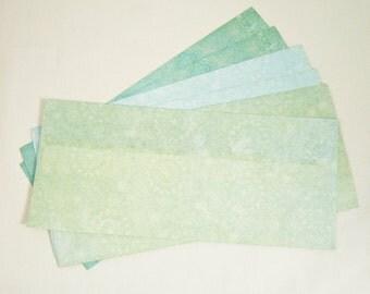 Shabby Chic Blue Lace Envelopes Size - Legal / Letter