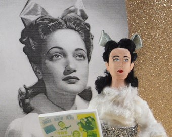 Dorothy Lamour Old Hollywood Movie Actress Comedy Film Miniature Celebrity Doll
