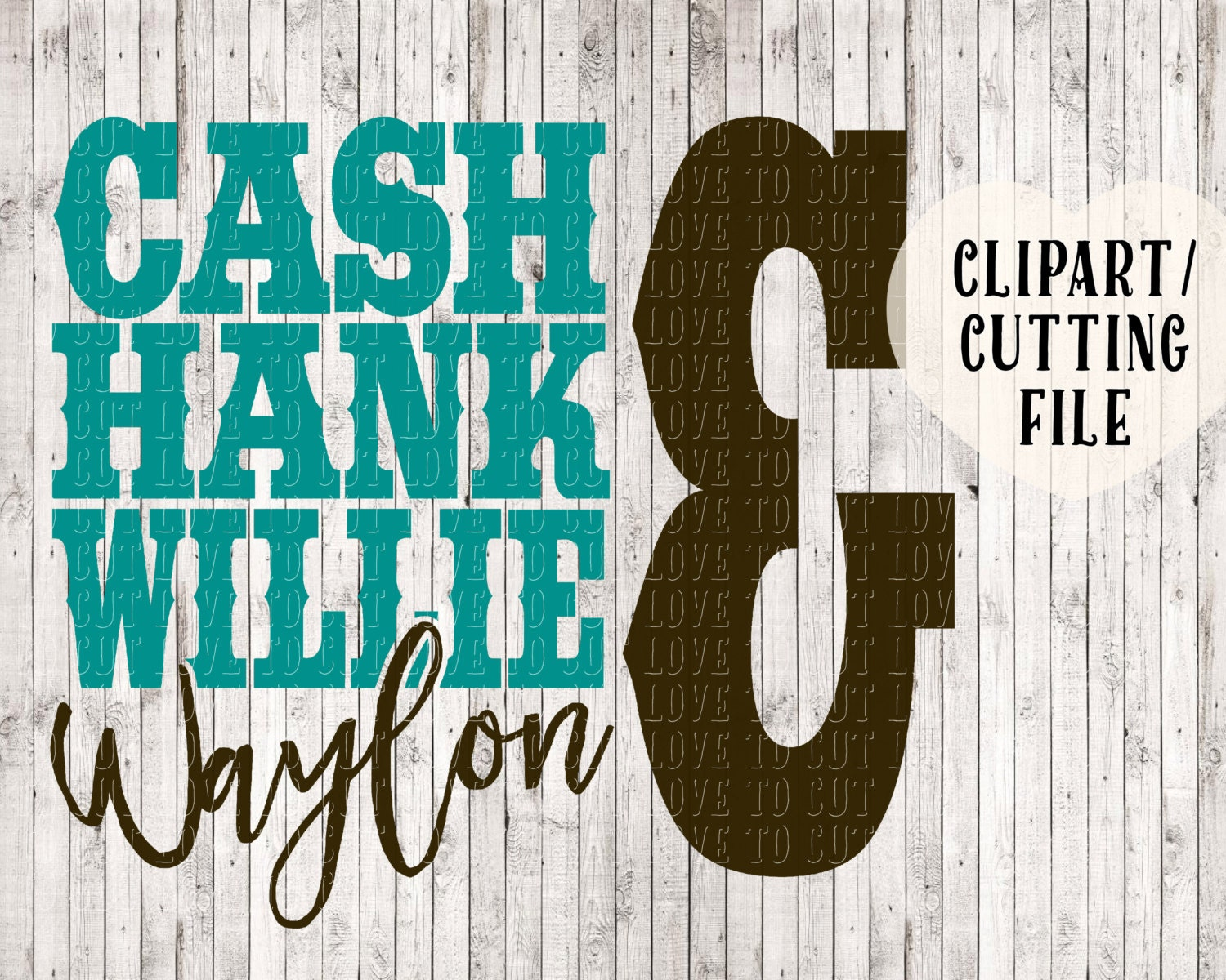 Cash Hank Willie Amp Waylon Svg Country Svg Country Shirt