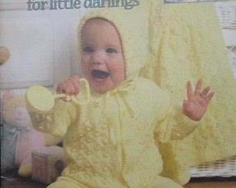 Baby Layettes Knitting Pattern Book Leisure Arts