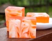 Exotic Satsuma Soap - Handmade Glycerin and Shea Butter Soap