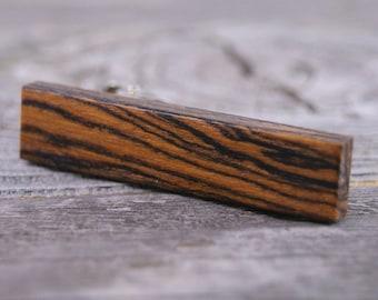 Tie Clip: Mexican Bocote tie tack