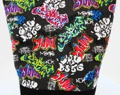 Insulated Lunch Bag by Nana Brown's - Graffiti