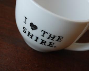 I Heart the Shire Teacup