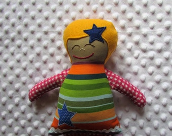 Julianna Small Handmade Fabric Baby Doll