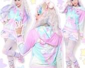 Melty Sweets Sweater, Ice Cream Sundae Sweater, Kawaii Sweater, Pastel Sweater