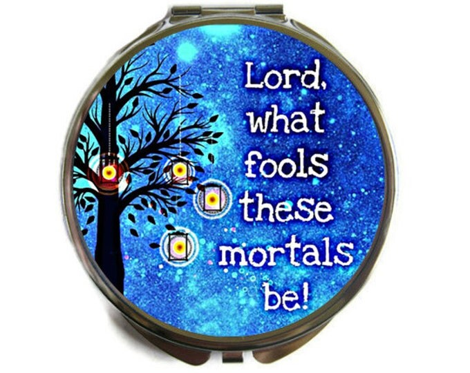 Shakespeare Compact Mirror Pocket Mirror Large A Midsummer Night's Dream