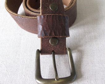 Leather Belt supplies art project Lucky Brand size 32