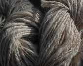 Hand spun natural oatmeal Alpaca Reserved Listing for Janet