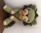 Handmade Amigurumi Lion-Green