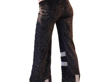 Black Velvet, Black Lace Dance Pants