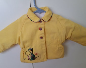 Little vintage yellow jacket