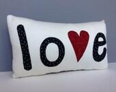 Wedding Valentine Love Romance Hearts Word Pillow Gift Present