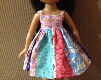 Pink Top Dress for Corolle Les Cheries, Groovy Girl, Hearts for Hearts Girls