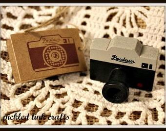 Poulain Camera Stamp