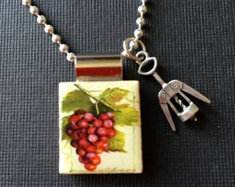 """Shop """"wine jewelry"""" in Necklaces"""