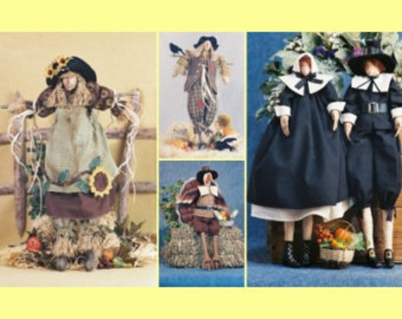 Mailed Cloth Doll Pattern Special Thanksgiving Collection