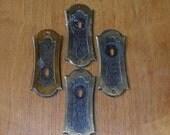 Antique Vintage Drawer Back Plates Vintage Door Back Plates Vintage Hardware
