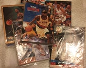 Vintage Basketball Cards Over 150 in 6 Packets From the Early 1990s Topps Fleer SkyBox Upper Deck Maybe Others Unsorted Lot