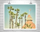 Hotel Del Coronado, San Diego Photography, San Diego Art, Hotel Del Gift, San Diego Gift, Vintage California Photograph