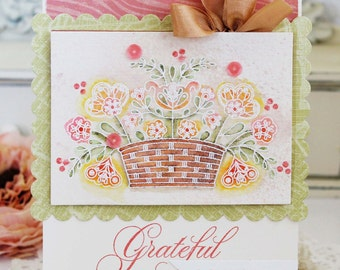 Grateful For You...Handmade Card