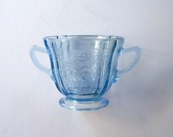 Federal Glass Blue Madrid Open Sugar Bowl