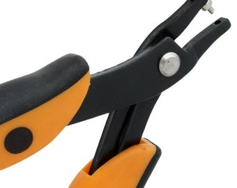 One Package Carbon Steel 1.8mm Round Hole Punch Plier - 5 Inch (29504)