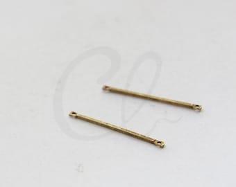4pcs Antique Brass Connector - Link - Bar 32x1.2mm (3060C-M-377)