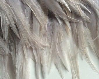 BELLA COQUE SADDLE / Silver grey w beige  highlights  / 252