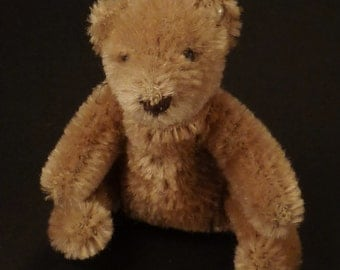 STEIFF BEAR Original Teddy Button in ear  Miniature Great condition  2 3/4 tall x 2 1/2 longx1 3/4 w in
