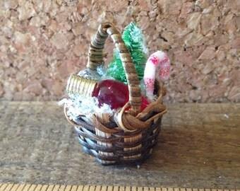 Christmas delight miniature basket