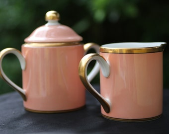 Fitz & Floyd Sugar and Creamer set