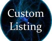 Custom order for scolvin83
