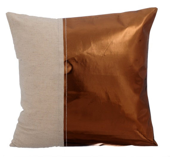 Throw Pillows Leather Couch : Decorative Throw Pillow Cover Accent Pillow Couch Sofa Leather