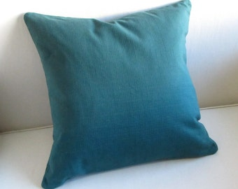 LEXINGTON pillow cover 18x18 20x20 22x22 24x24 26x26 13x26 12x20 prussian blue
