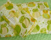 ON SALE Gender Neutral Designer Flannel Baby blanket and 12 in X 16 in Pillowcase - Approximately 42 in X 41 in Ready To Ship